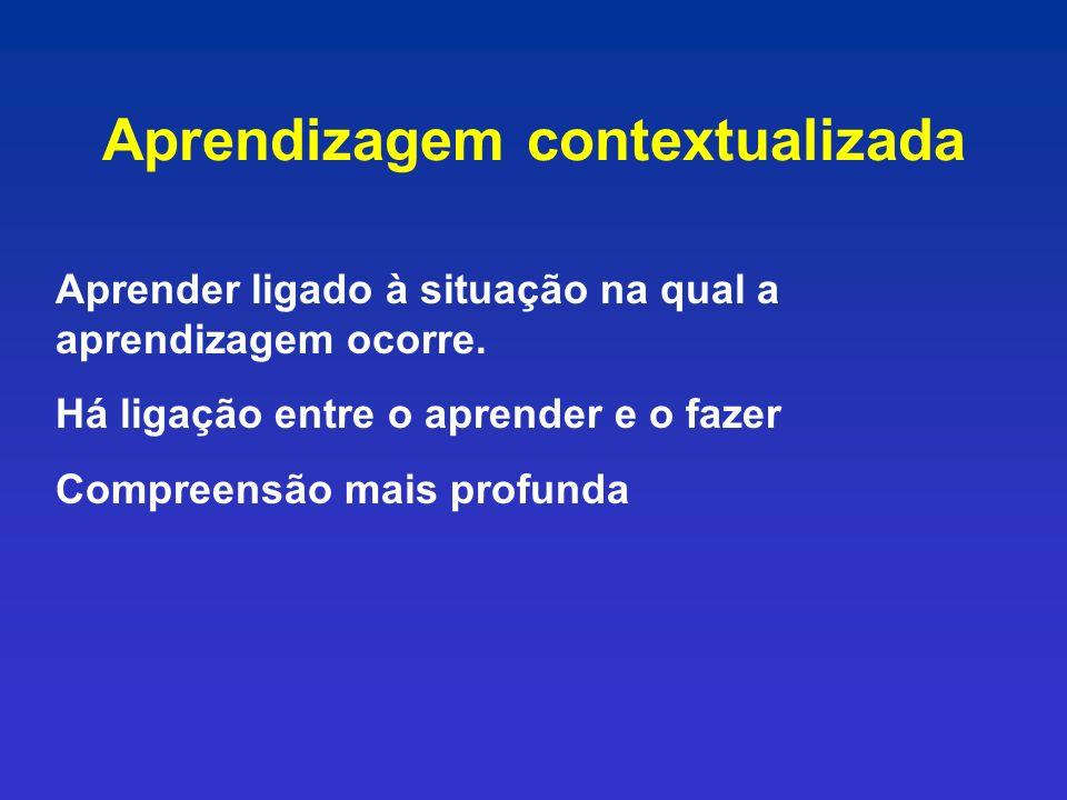 Aprendizagem contextualizada