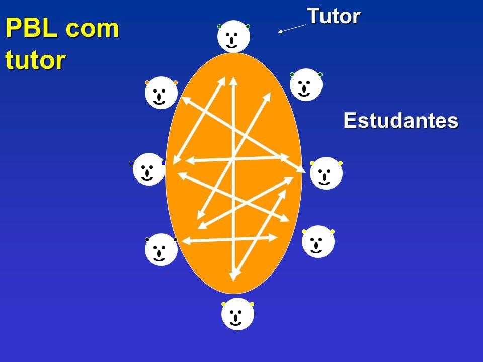 Tutor PBL com tutor Estudantes