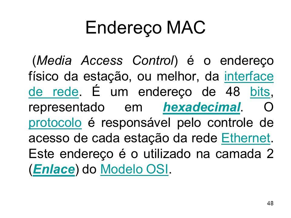 Endereço MAC