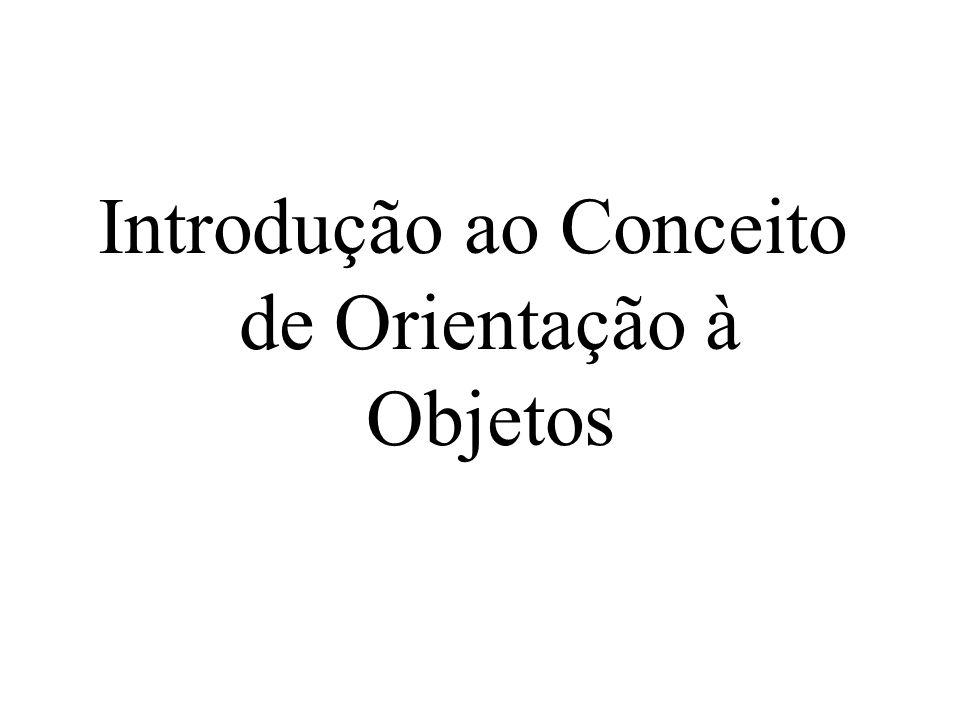 Introdução ao Conceito de Orientação à Objetos