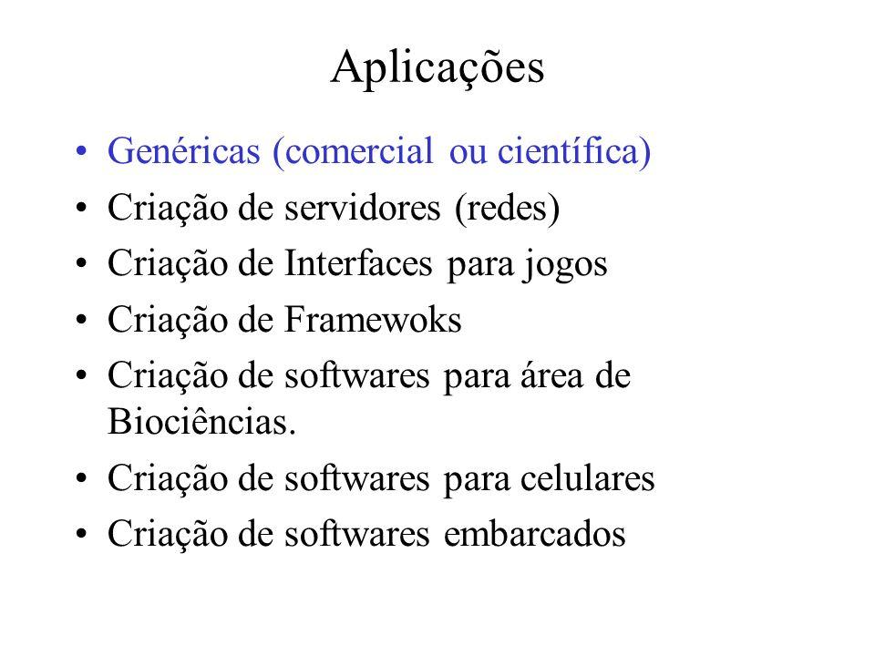 Aplicações Genéricas (comercial ou científica)