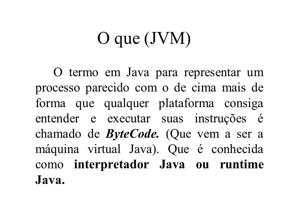 O que (JVM)