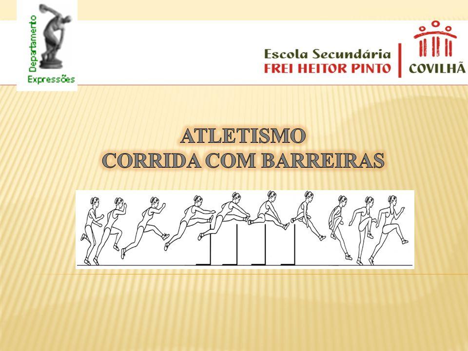 Atletismo Corrida com barreiras