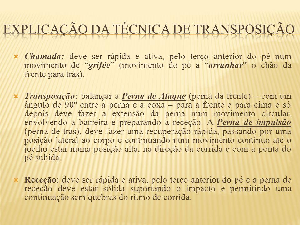 Explicação da técnica de transposição