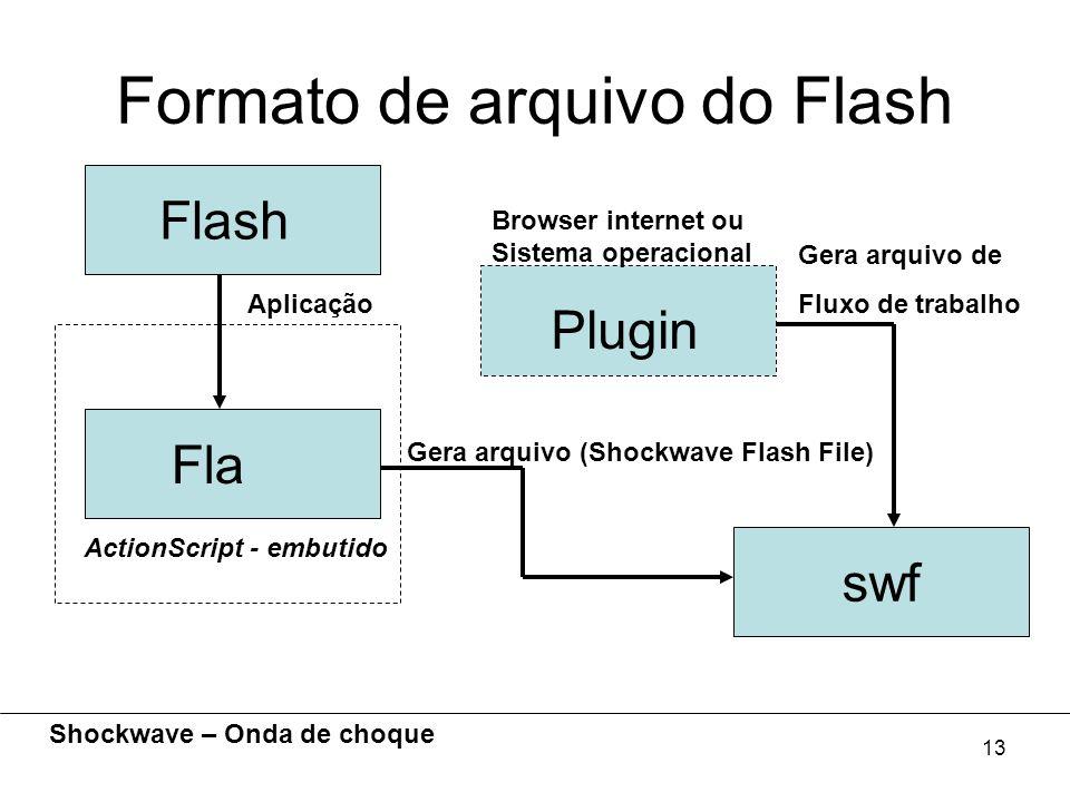 Formato de arquivo do Flash