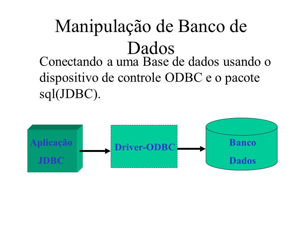 Manipulação de Banco de Dados