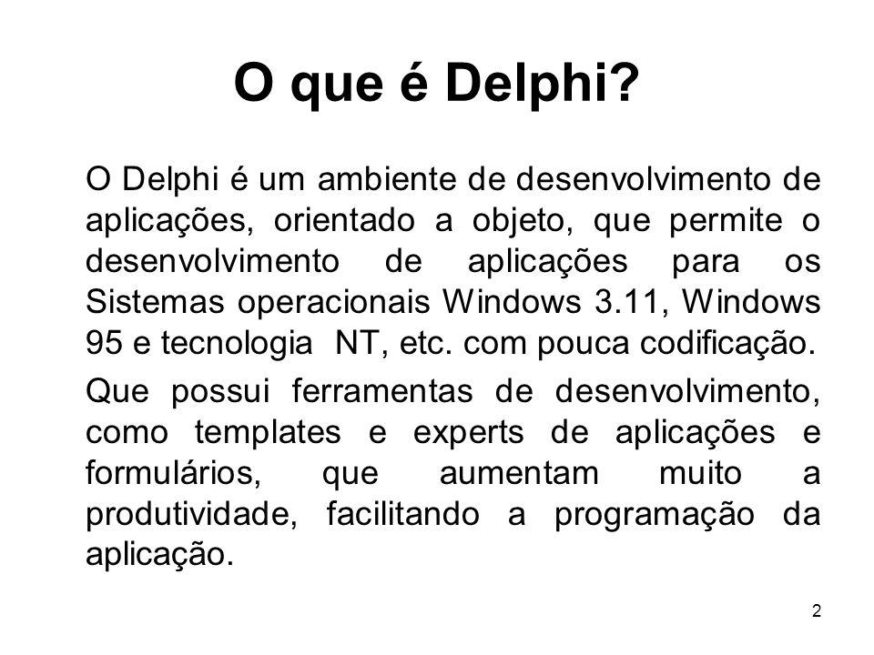 O que é Delphi