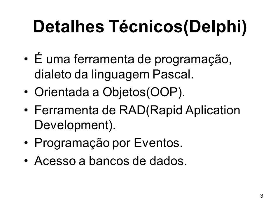 Detalhes Técnicos(Delphi)