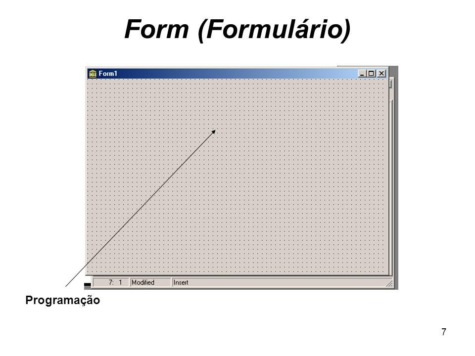 Form (Formulário) Programação