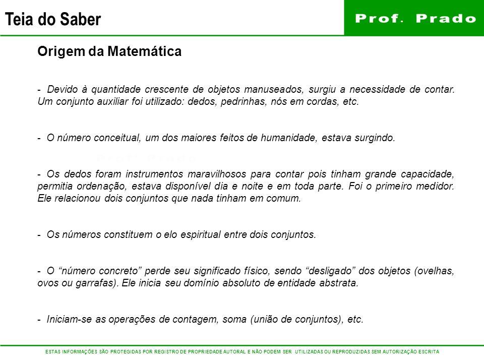 Origem da Matemática