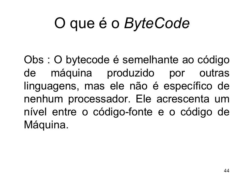 O que é o ByteCode