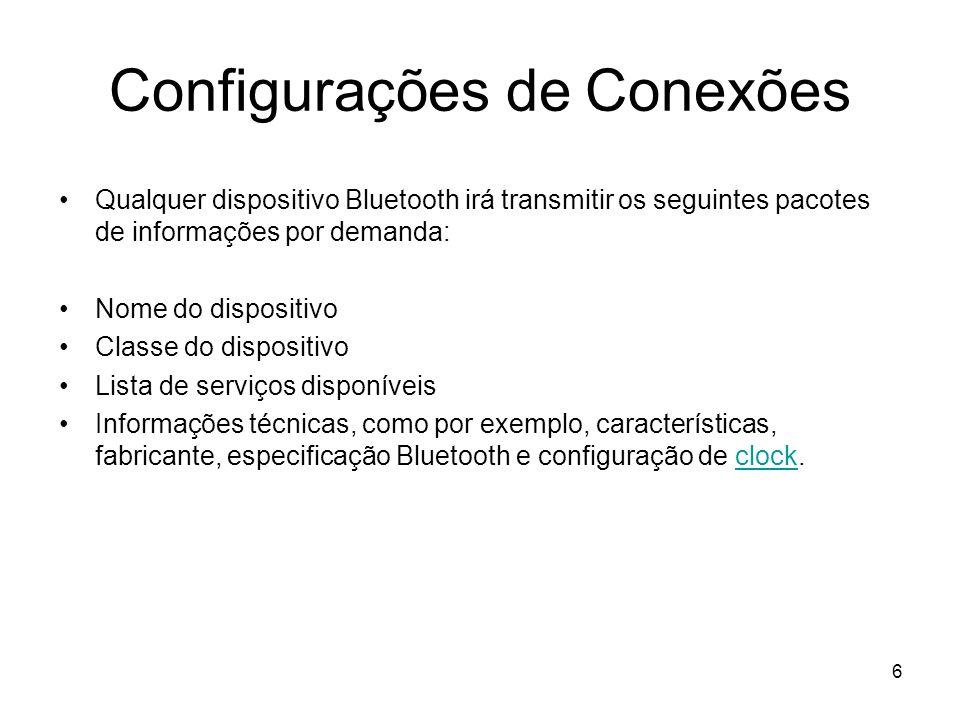 Configurações de Conexões