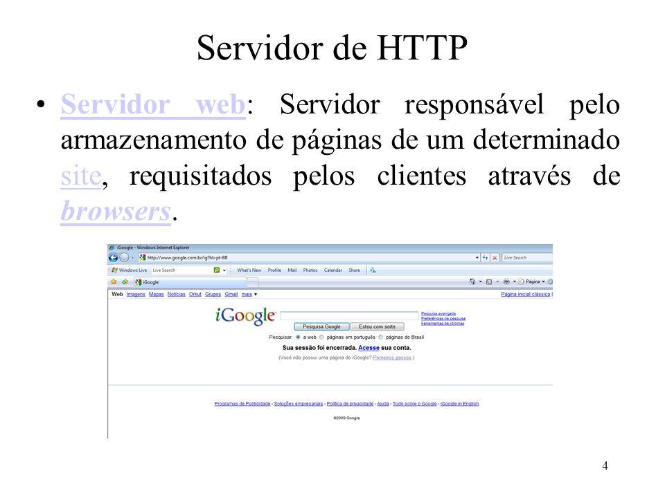 Servidor de HTTP