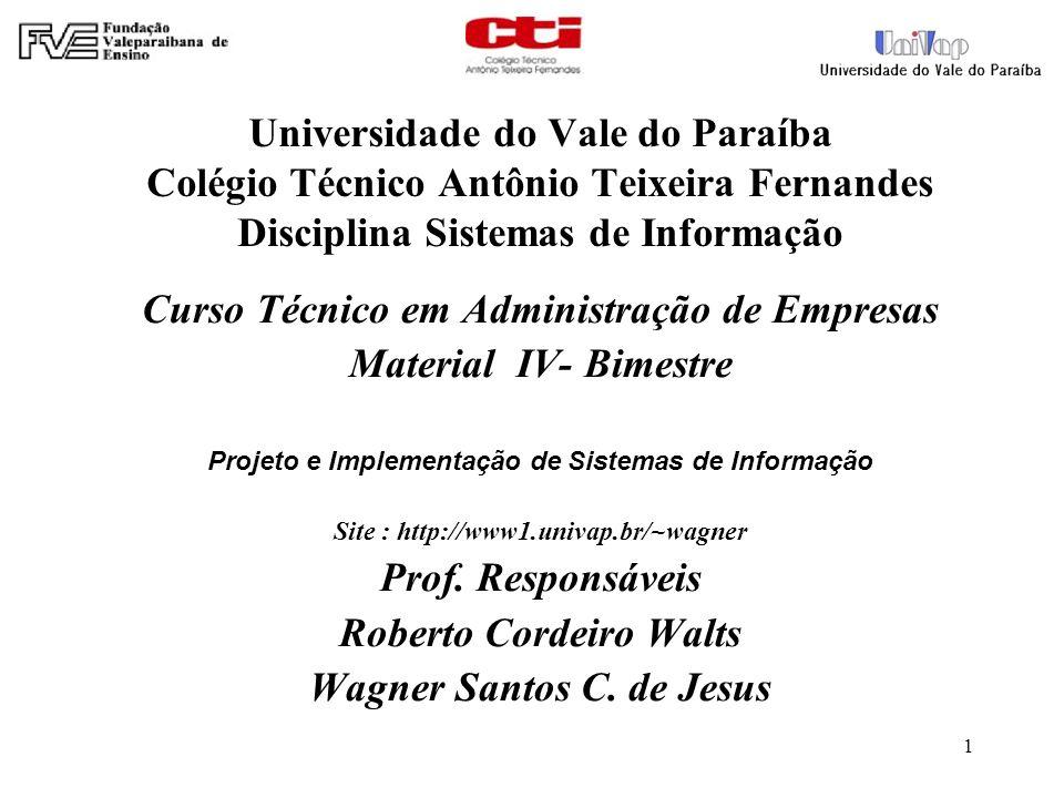 Curso Técnico em Administração de Empresas Material IV- Bimestre