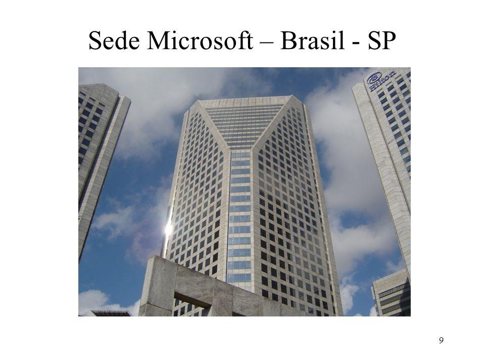 Sede Microsoft – Brasil - SP