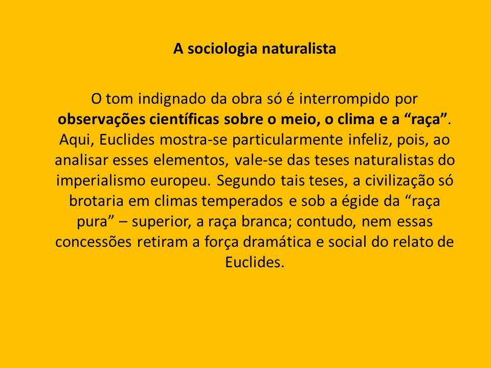 A sociologia naturalista