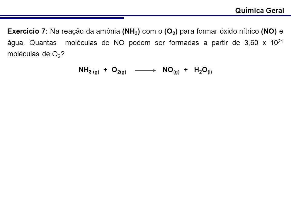 NH3 (g) + O2(g) NO(g) + H2O(l)