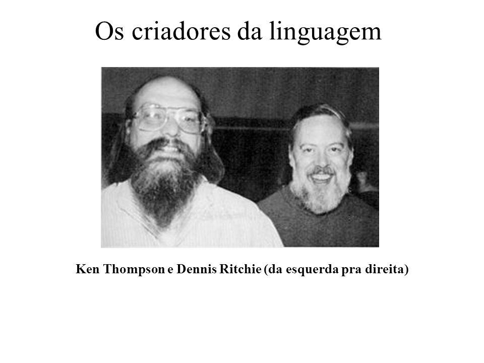 Os criadores da linguagem