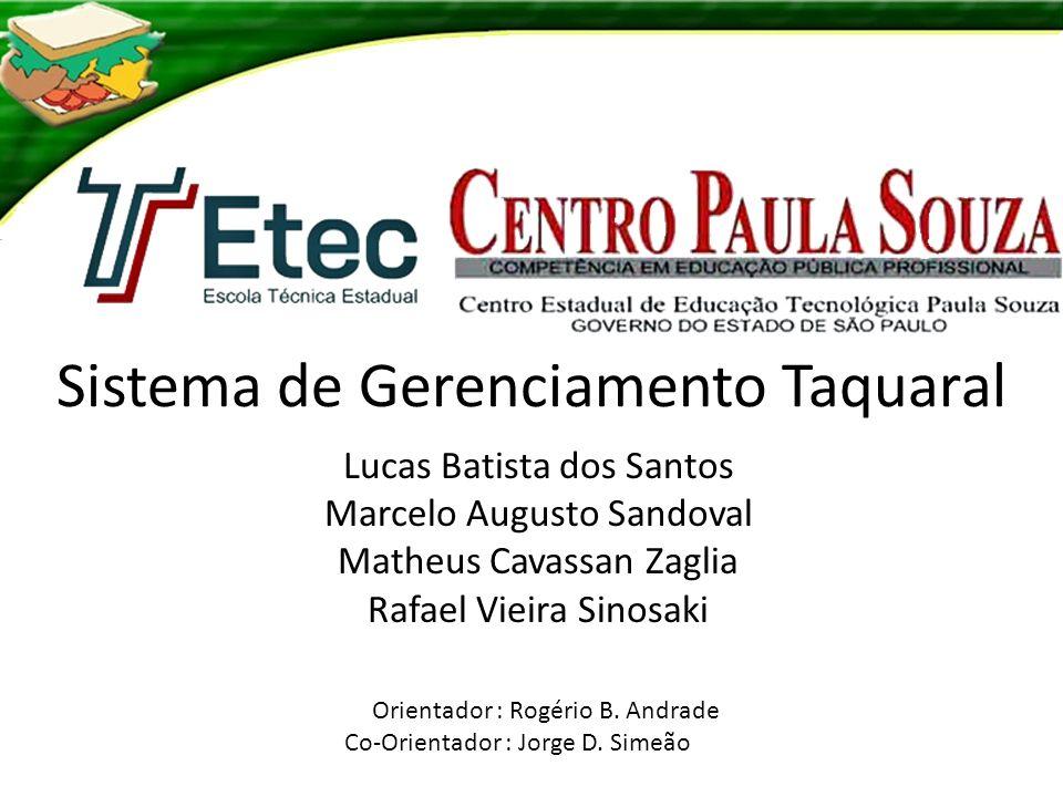 Sistema de Gerenciamento Taquaral