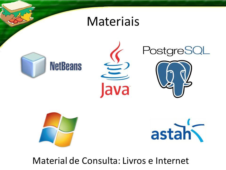 Material de Consulta: Livros e Internet