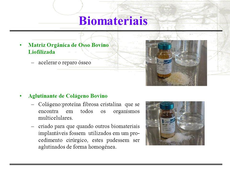 Biomateriais Matriz Orgânica de Osso Bovino Liofilizada