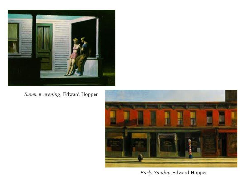 Summer evening, Edward Hopper