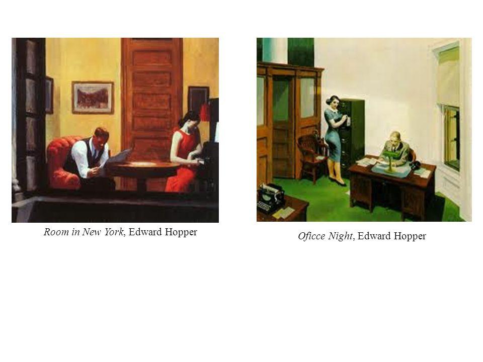 Room in New York, Edward Hopper Oficce Night, Edward Hopper