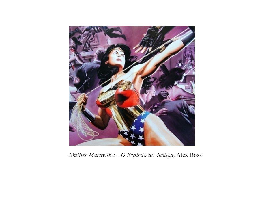Mulher Maravilha – O Espírito da Justiça, Alex Ross