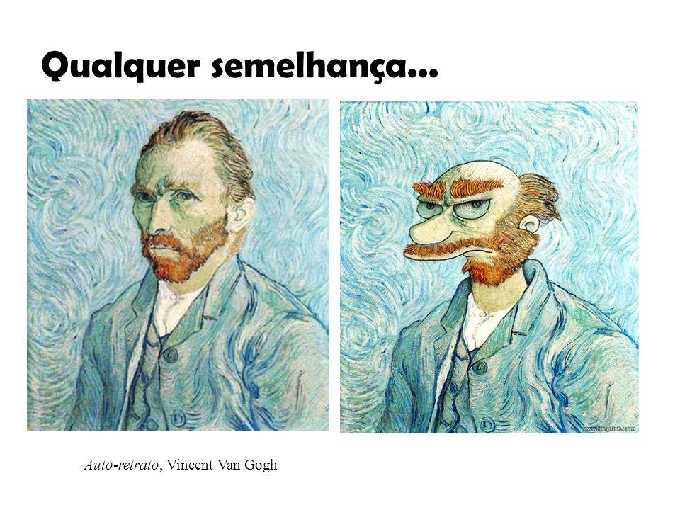 Auto-retrato, Vincent Van Gogh