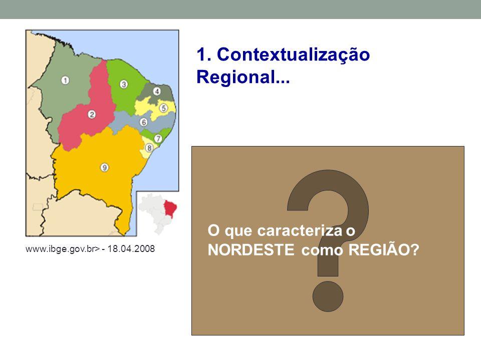 1. Contextualização Regional...