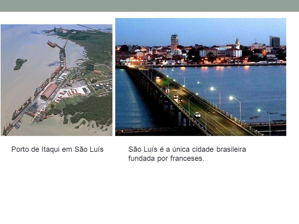 Porto de Itaqui em São Luís