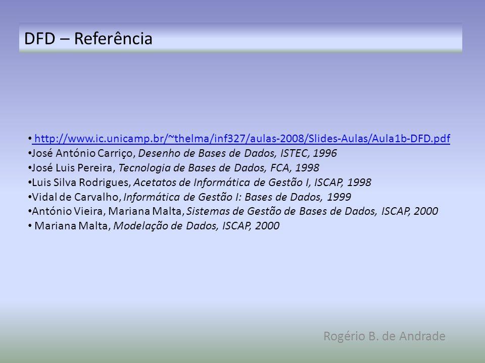 DFD – Referência Rogério B. de Andrade