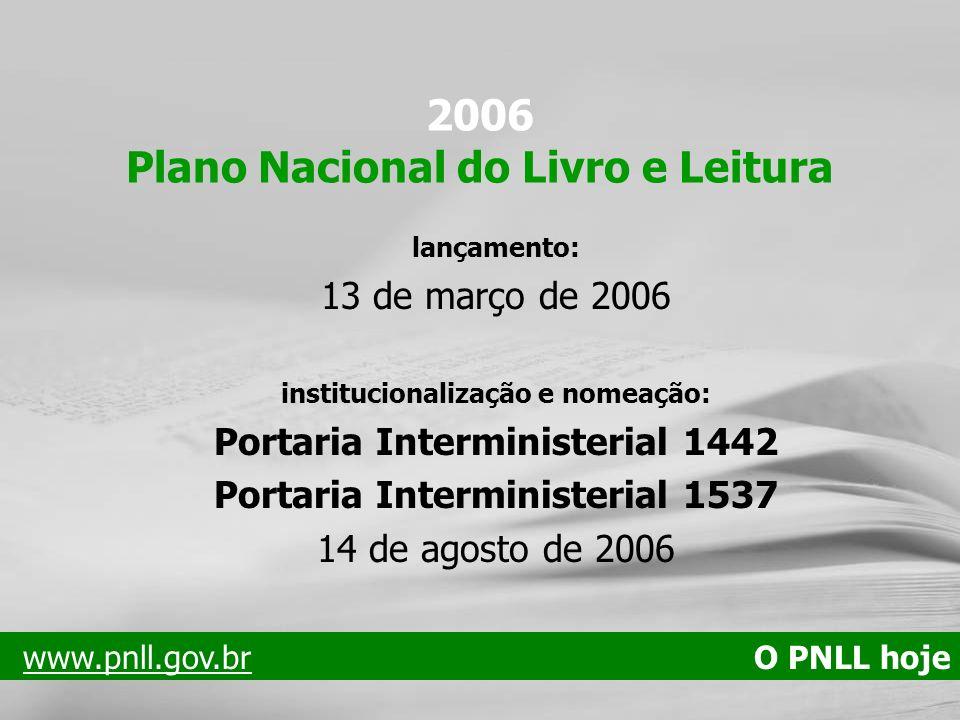 2006 Plano Nacional do Livro e Leitura