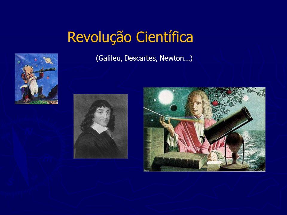 Revolução Científica (Galileu, Descartes, Newton...)