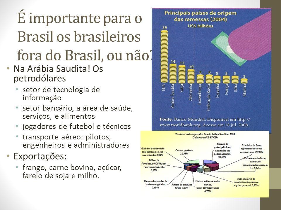 É importante para o Brasil os brasileiros fora do Brasil, ou não