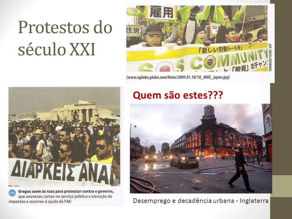 Protestos do século XXI