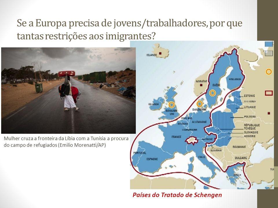 Se a Europa precisa de jovens/trabalhadores, por que tantas restrições aos imigrantes