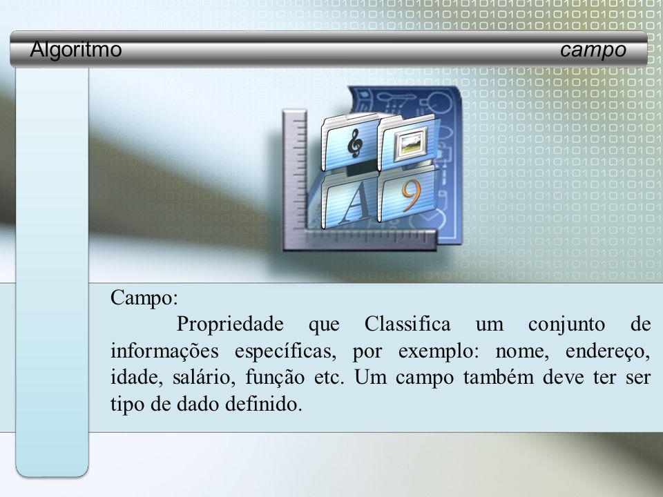 Algoritmo campoCampo: