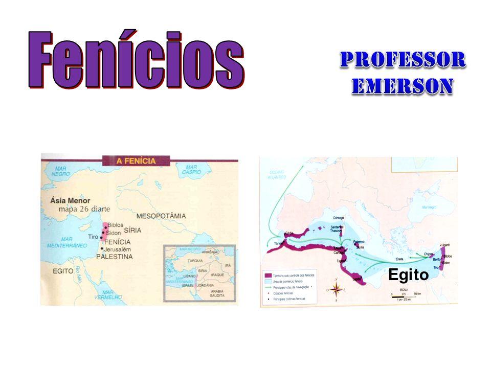 PROFESSOR Emerson Fenícios Egito