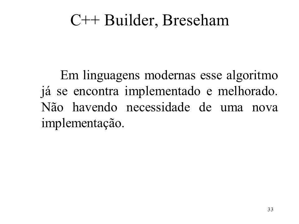 C++ Builder, Breseham