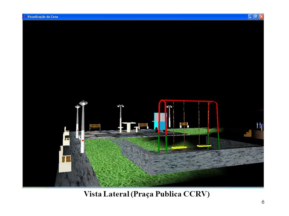 Vista Lateral (Praça Publica CCRV)