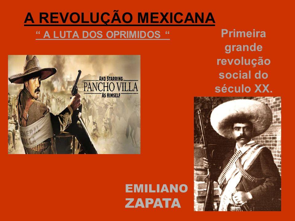 Primeira grande revolução social do século XX.