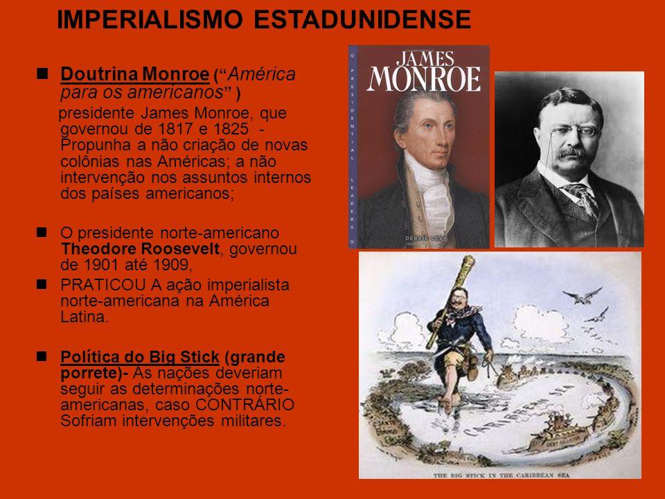 IMPERIALISMO ESTADUNIDENSE