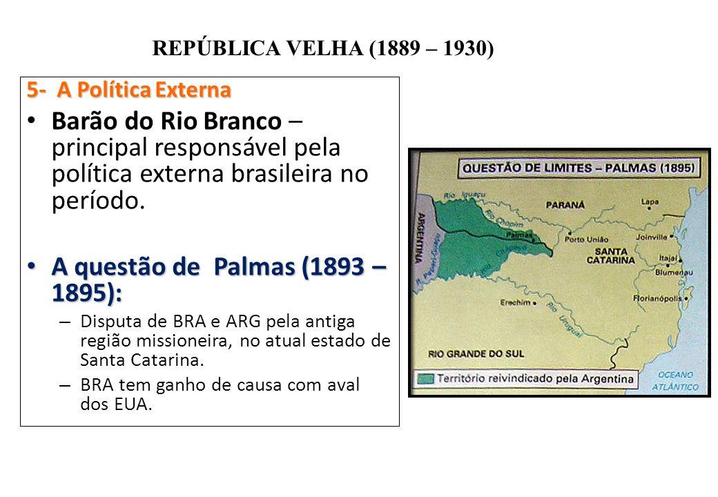 A questão de Palmas (1893 – 1895):