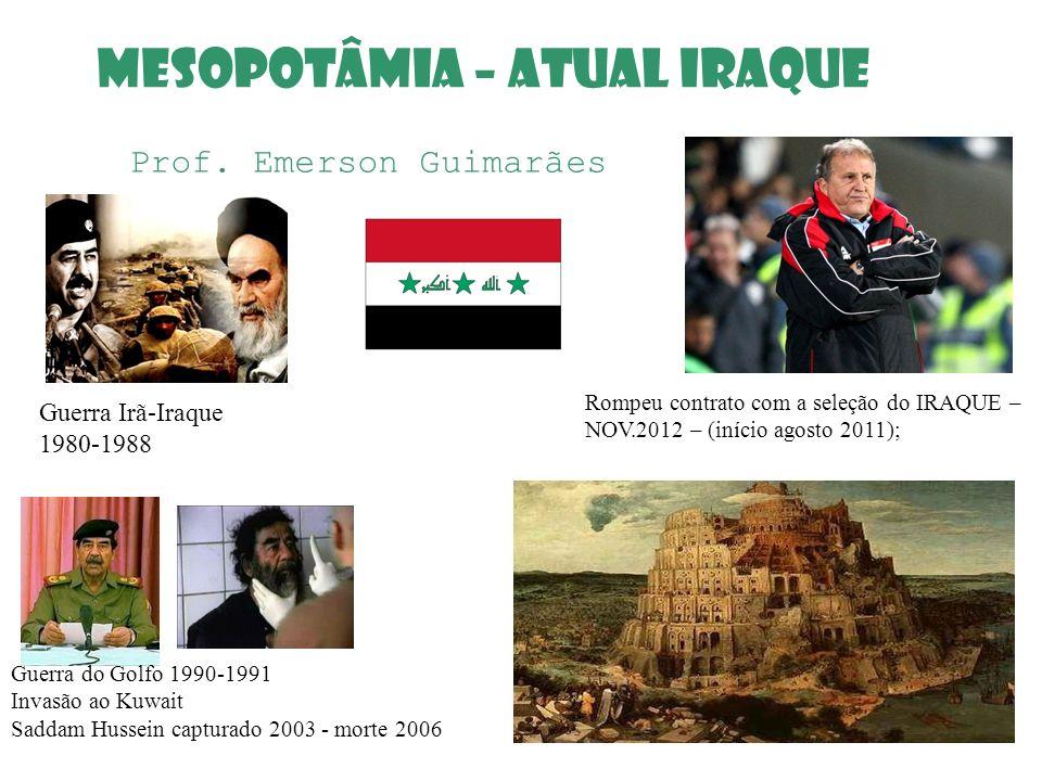MESOPOTÂMIA – ATUAL IRAQUE