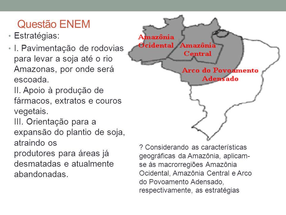 Questão ENEM Estratégias:
