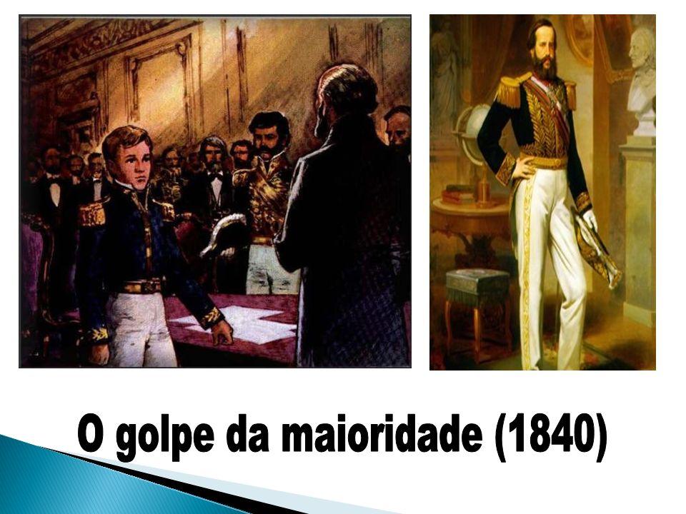O golpe da maioridade (1840)