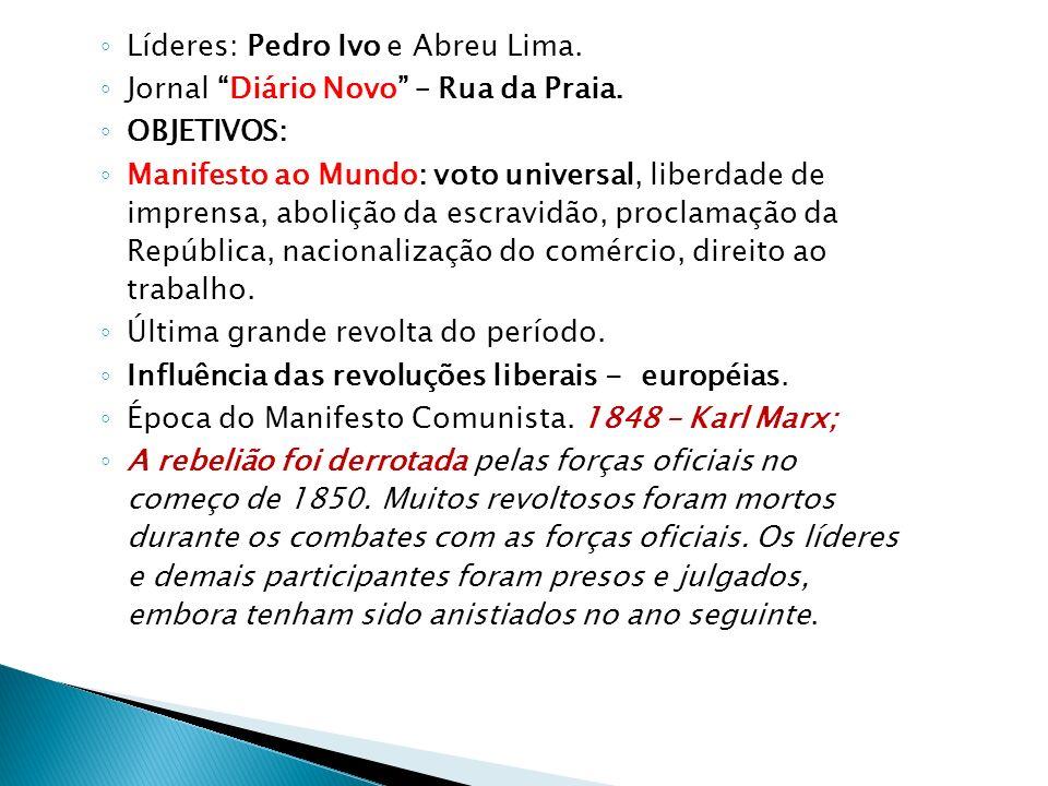 Líderes: Pedro Ivo e Abreu Lima.