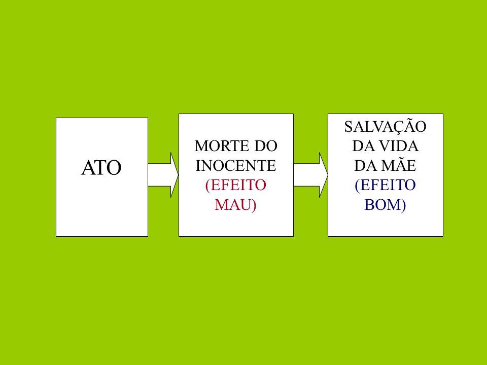 SALVAÇÃO DA VIDA DA MÃE (EFEITO BOM)