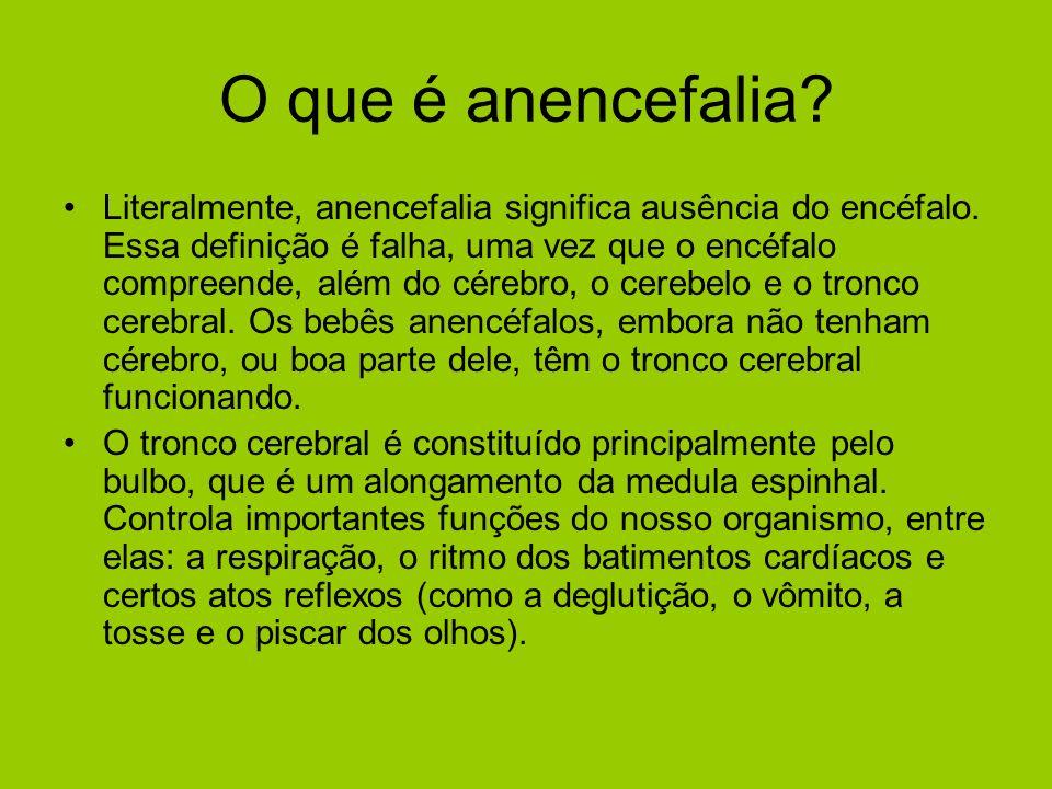 O que é anencefalia